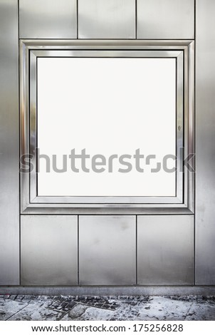 modern window display - nice background