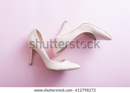 Modern woman shoes #612798272