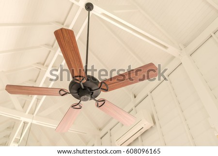 Free photos tropical wooden colonial style ceiling fan avopix modern wooden ceiling fan vintage style 608096165 aloadofball Image collections