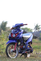 modification of the yamaha mio soul motorcycle in the current era