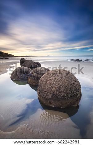 Moeraki boulders #662242981