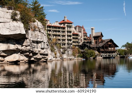 Mohonk Mountain House in New Paltz, New York