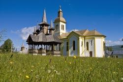 Moisei, traditional church of northern Romania
