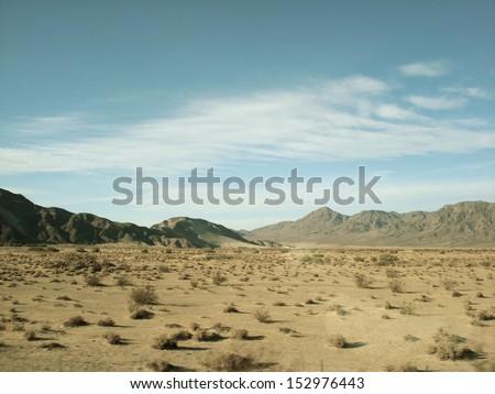 Mojave Desert Landscape #152976443