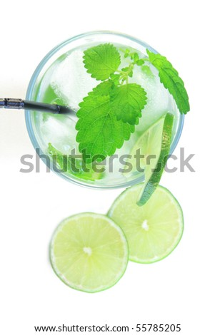 mojito from top