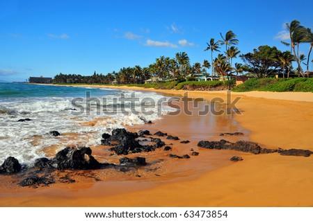 Mokapu Beach Park on the Kehei Side of Maui Hawaii