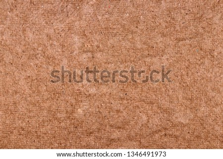 Molded pulp (texture) made of recycled paper