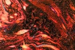 Molten magma hot lava texture