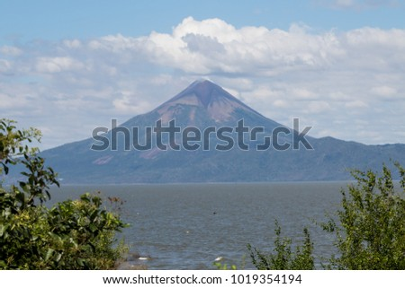 Mombacho Volcano! Located in Nicaragua is one of the most beautiful viewpoints I could find, I must say the view in real life is amazing but the photograph says a lot...  #1019354194