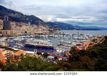 Monaco during the Formula 1 GrandPrix - stock photo