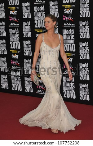 MONACO - MAY 18, 2010: Nicky Hilton at the 2010 World Music Awards at the Monte Carlo Sporting Club, Monaco.