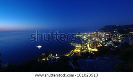 Monaco, Monte Carlo by night