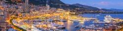 Monaco Panorama at Dusk