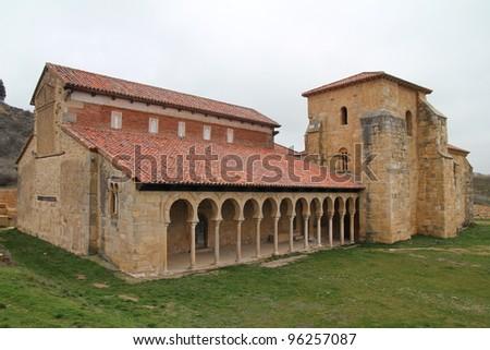 Monasterio San Miguel de Escalada, Leon. Spain. - stock photo
