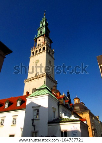 monastery and the basilica of Jasna Gora in Czestochowa, Poland