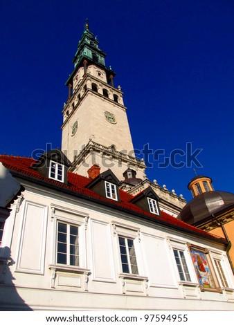 monastery and the basilica of Jasna Gora in Czestochowa, Poland