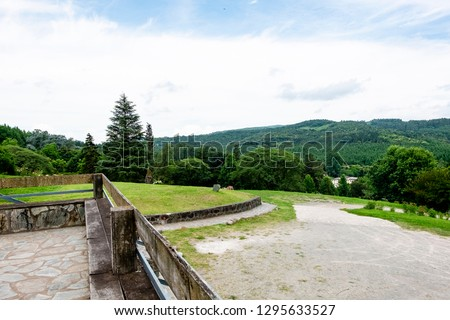 Monastery built of stones. #1295633527