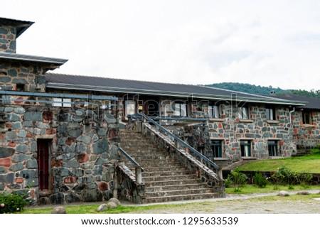 Monastery built of stones. #1295633539