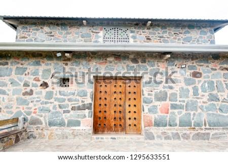 Monastery built of stones. #1295633551