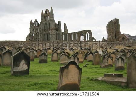 Monastery graveyard, Whitby, UK