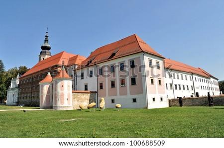 monastery in kostanjevica na krki Stock photo ©