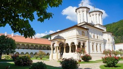 Monastery of Horezu in Romania