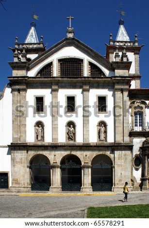 Monastery of S. Bento in Santo Tirso, north of Portugal