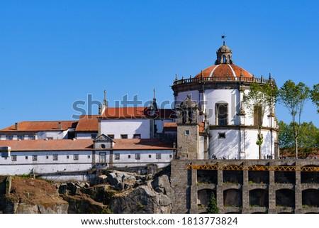 Monastery of Serra do Pilar in Vila Nova de Gaia, Portugal Foto stock ©