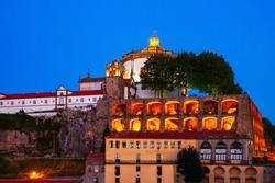 Monastery of Serra do Pilar is a former monastery located in Vila Nova de Gaia, opposite Porto city in Portugal