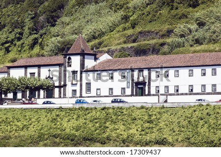 Monastery of St. Francis, now the City Hall of Lages do Pico, Pico island, Azores, Portugal