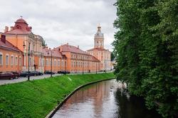 Monastery of the Holy Trinity Alexander Nevsky Lavra 18th century, Saint Petersburg.