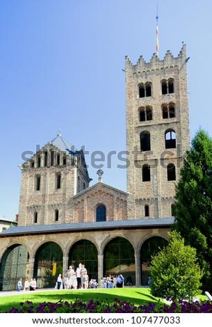 Monastery romanesque of Ripoll.Catalonia.Spain