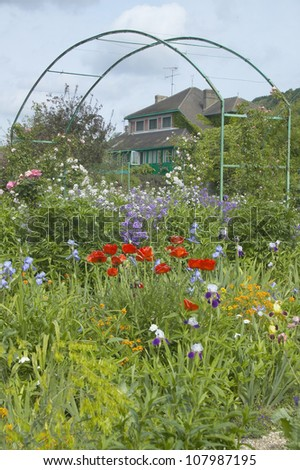 Monet's Garden at Giverny, France