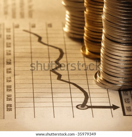 money and chart