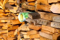 Money as firewood  Inflation, wood becomes expensive, and money burns destroys