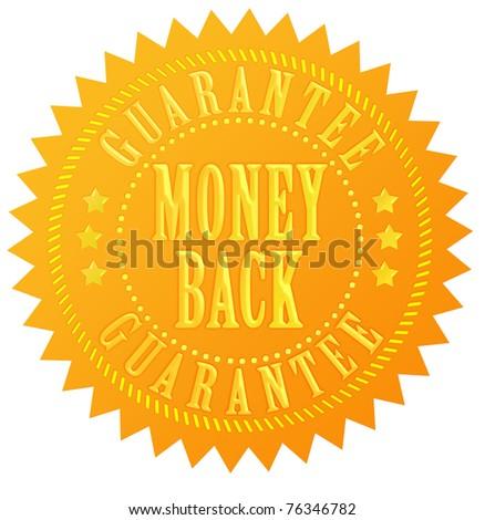 Money back guarantee gold seal