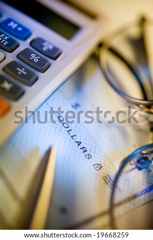 Money check and calculator