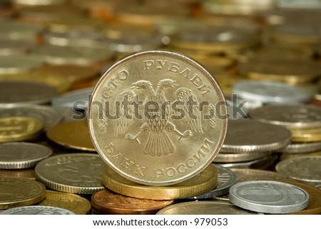 money 003 coin 100 ruble