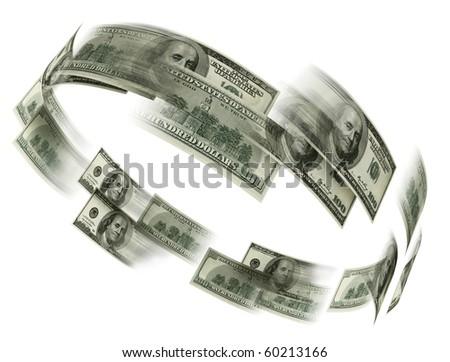 money flaying