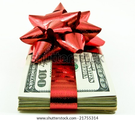 money for christmass