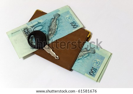 money for payment of vehicle, payment of fee or tax