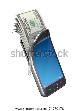 Money in the mobile phone