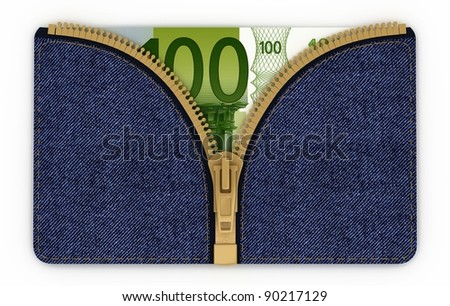 Money in your pocket jeans symbolize the accumulation of equity