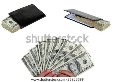 Money isolated on white