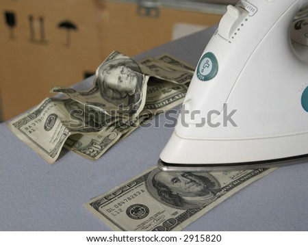 Money laundering in warehouse