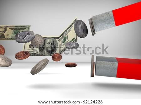 Money Magnet/Digitally rendered scene