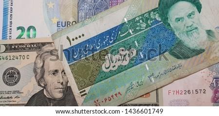 Money on white background photo