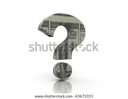 Money question mark