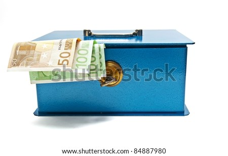 Money safe - stock photo