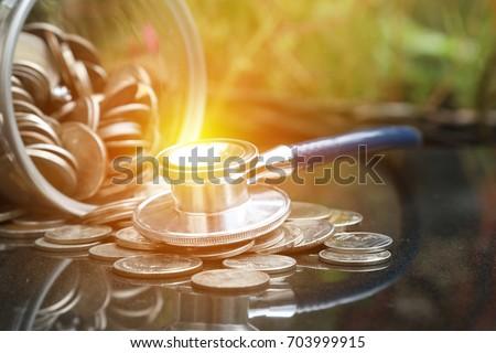 Money Saving, financial concept #703999915